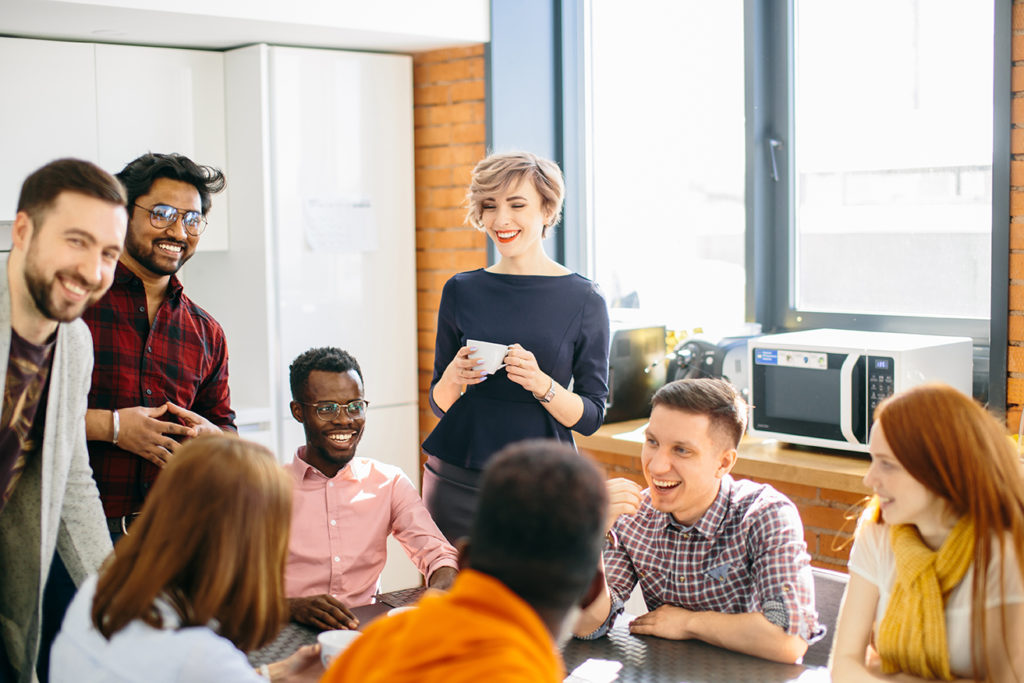 informal meeting of employees